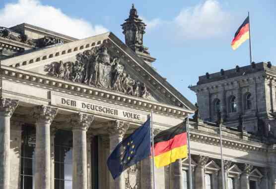 Reichstagsgebaeude in Berlin