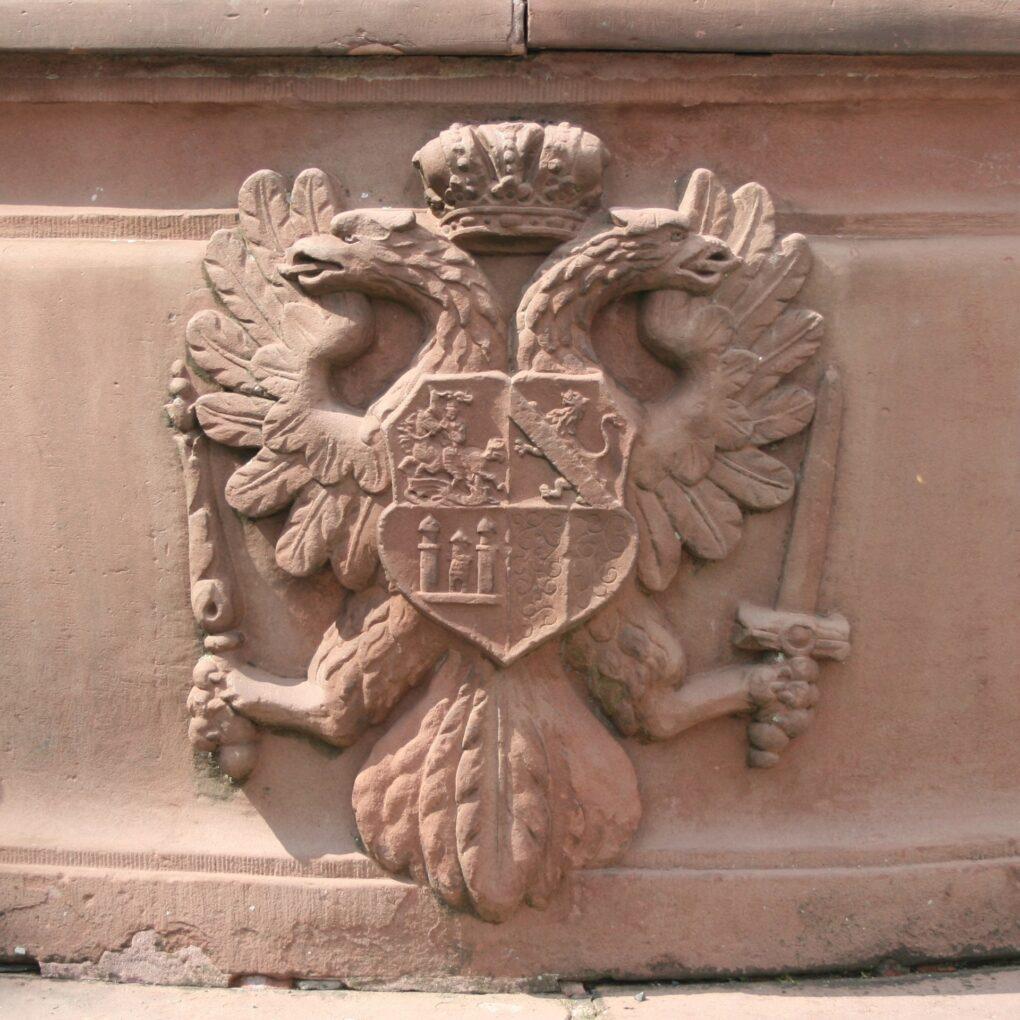 Friedberg, Wappen am Georgsbrunnens