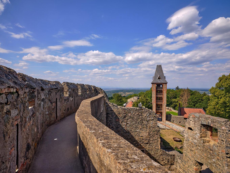 Burg Frankenstein, Torturm