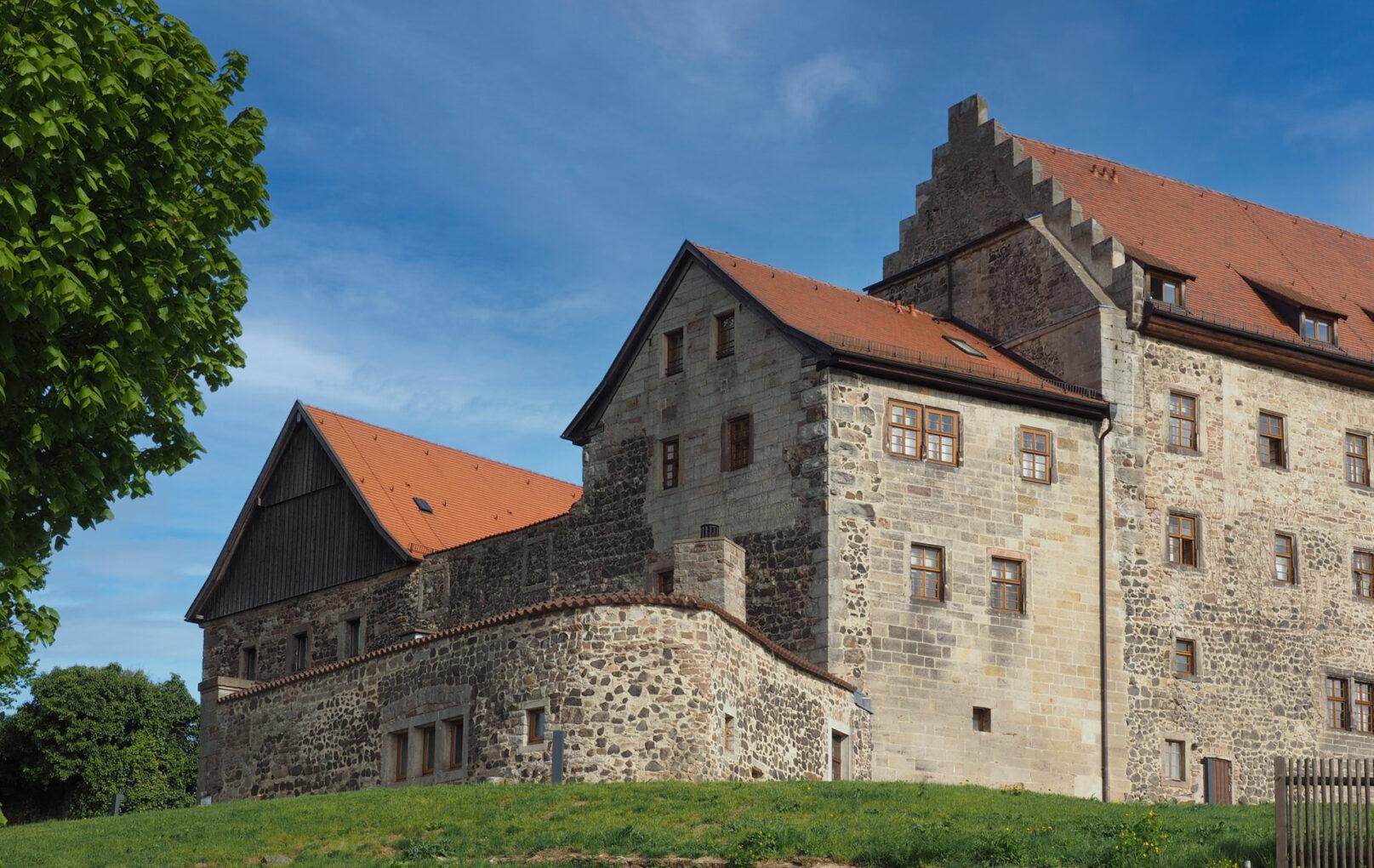 Burg Fürsteneck, Wohnbau