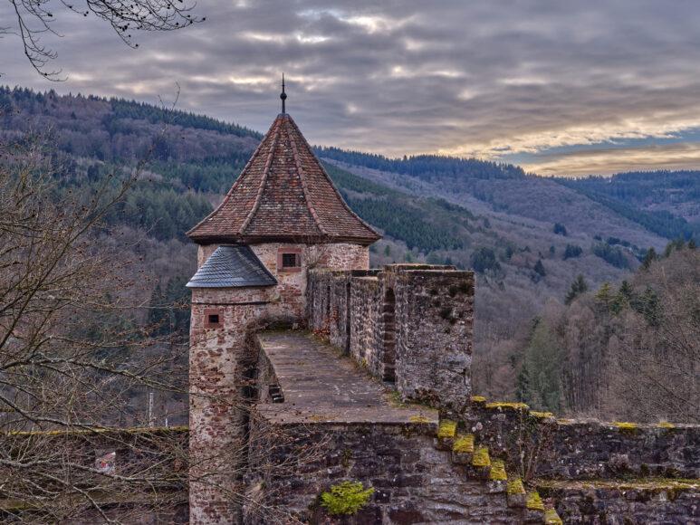 Schloss Hirschhorn, Gefängnisturm