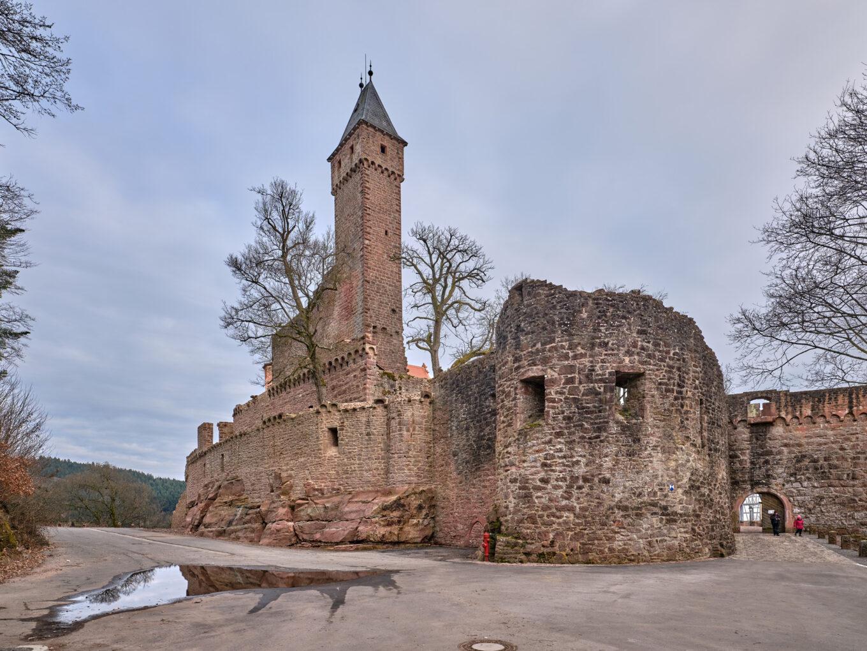 Schloss Hirschhorn, Bergfried