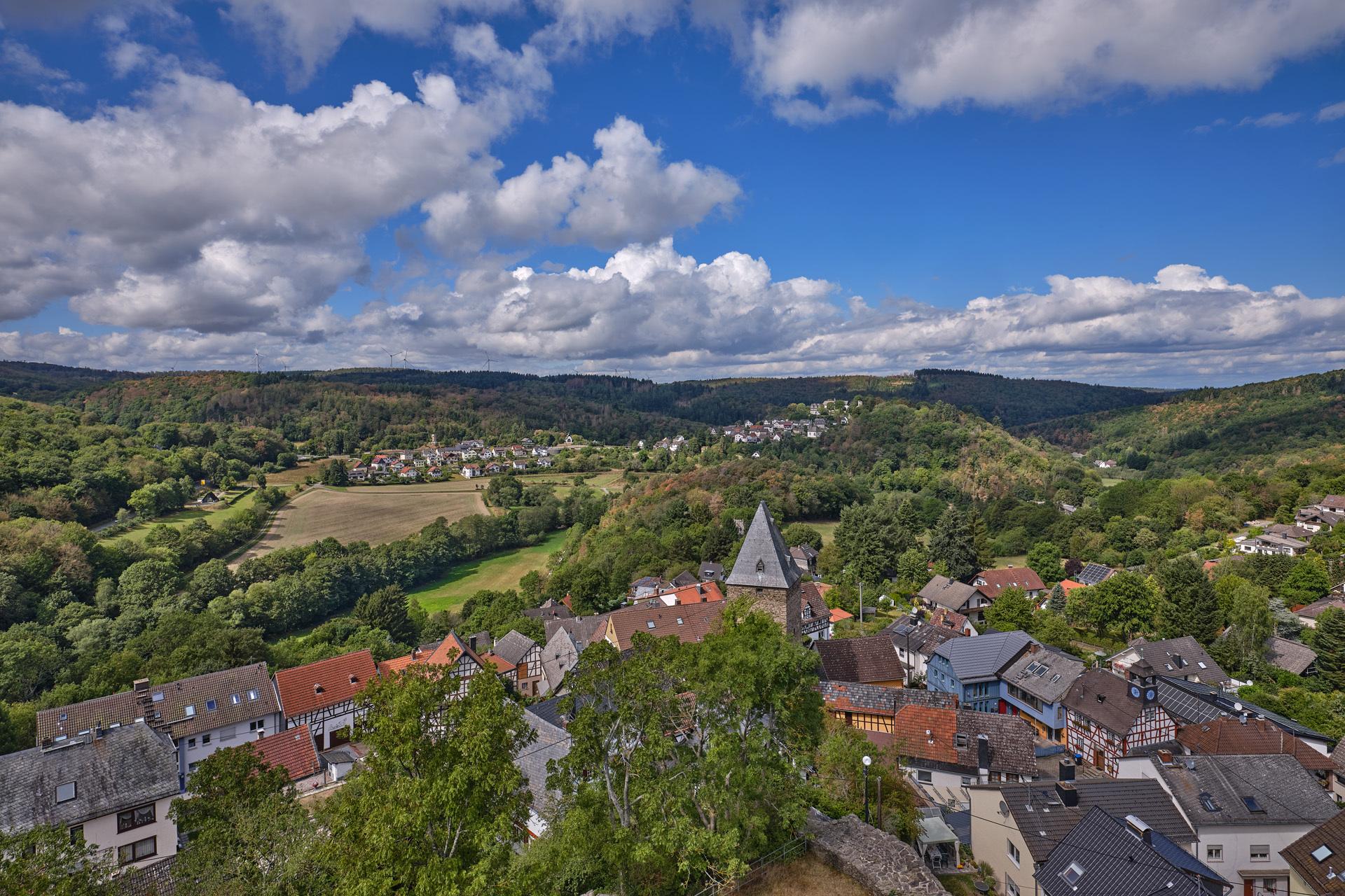 Burgruine Altweilnau, Aussicht