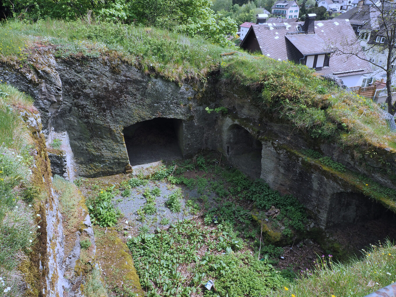 Burgruine Oberreifenberg, Pulverkammer