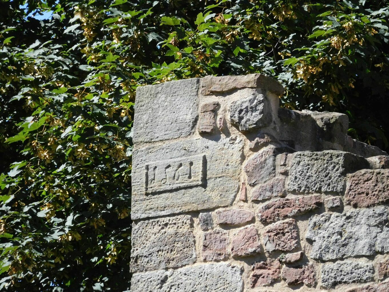 Burgruine Schwarzenfels, Jahreszahl