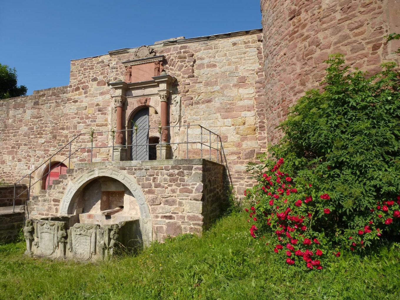 Burgruine Schwarzenfels, Portal