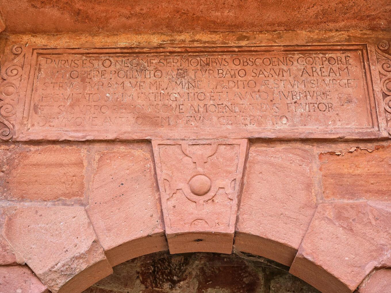 Elisabethbrunnen, Inschrift