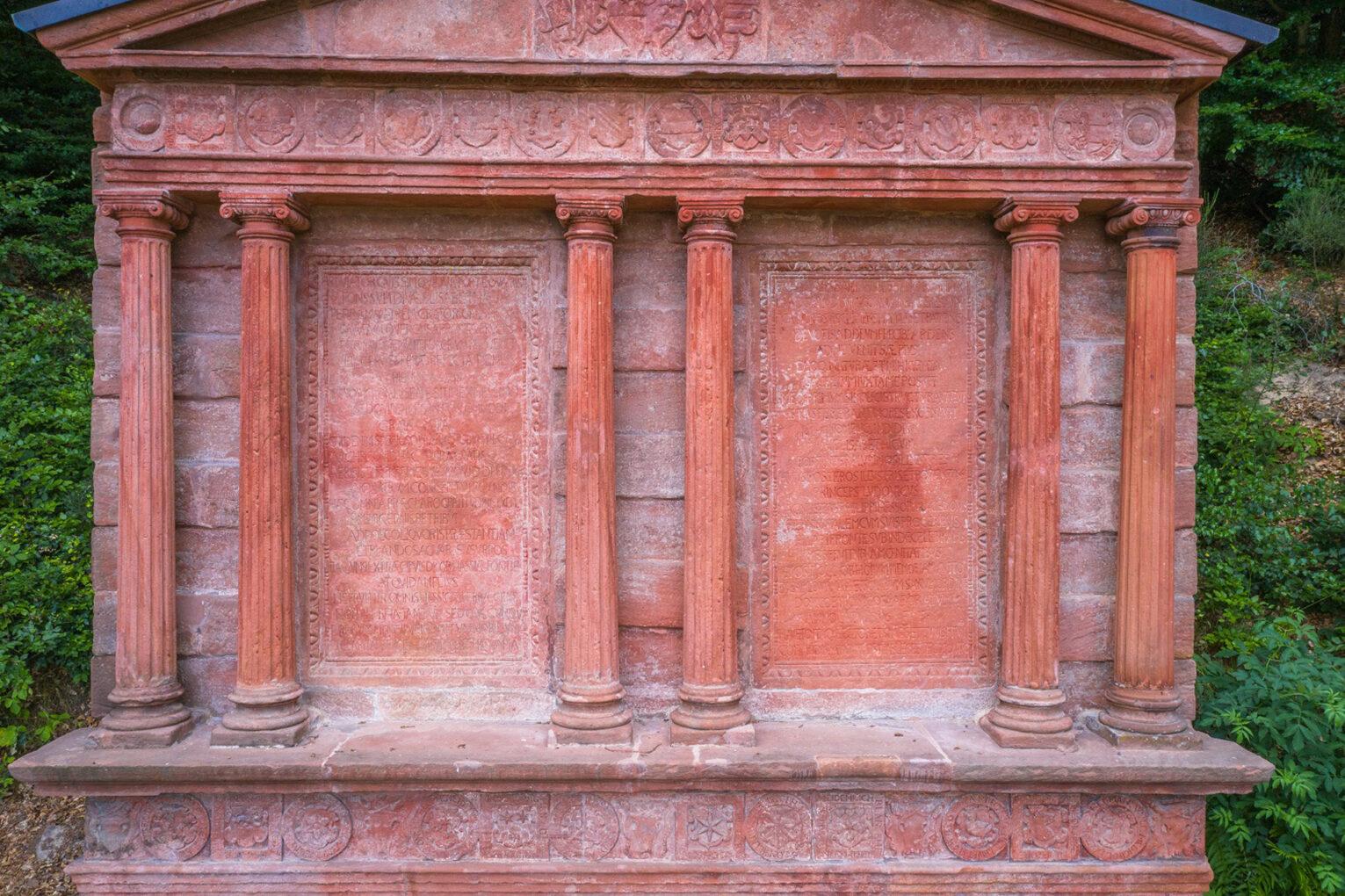 Elisabethbrunnen, Inschriften