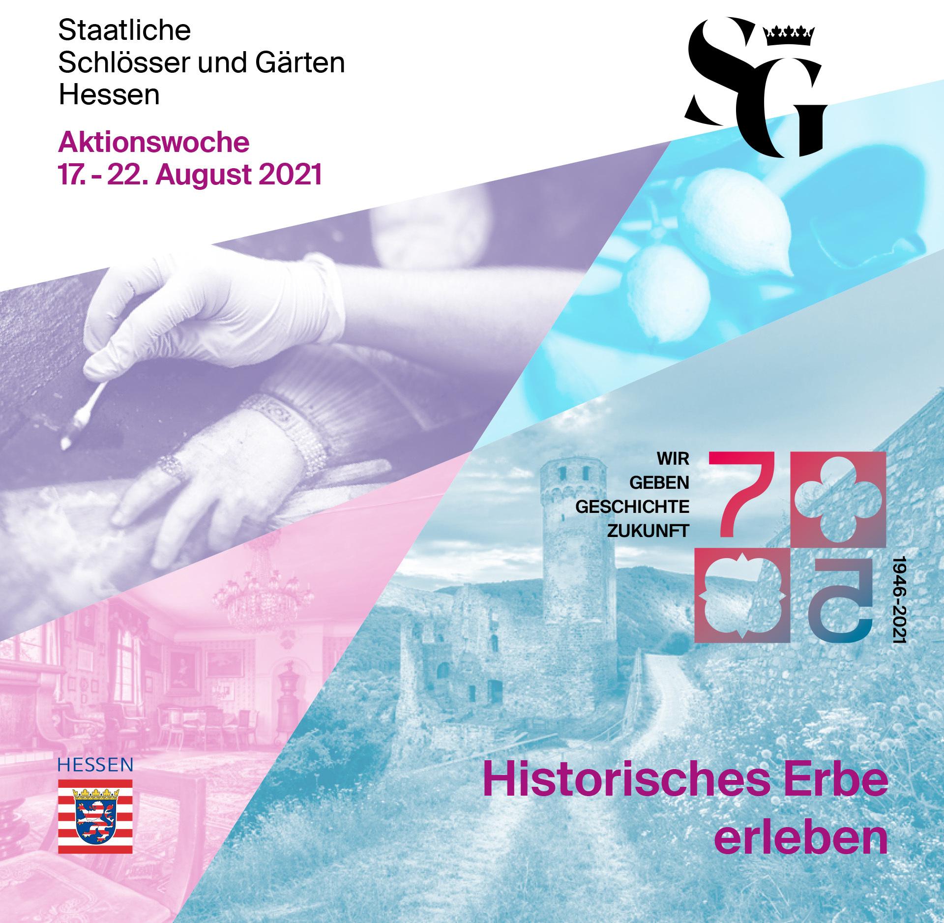Titelbild der Broschüre zur Aktionswoche Historisches Erbe erleben