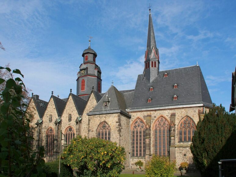 Butzbach, Markuskirche von außen