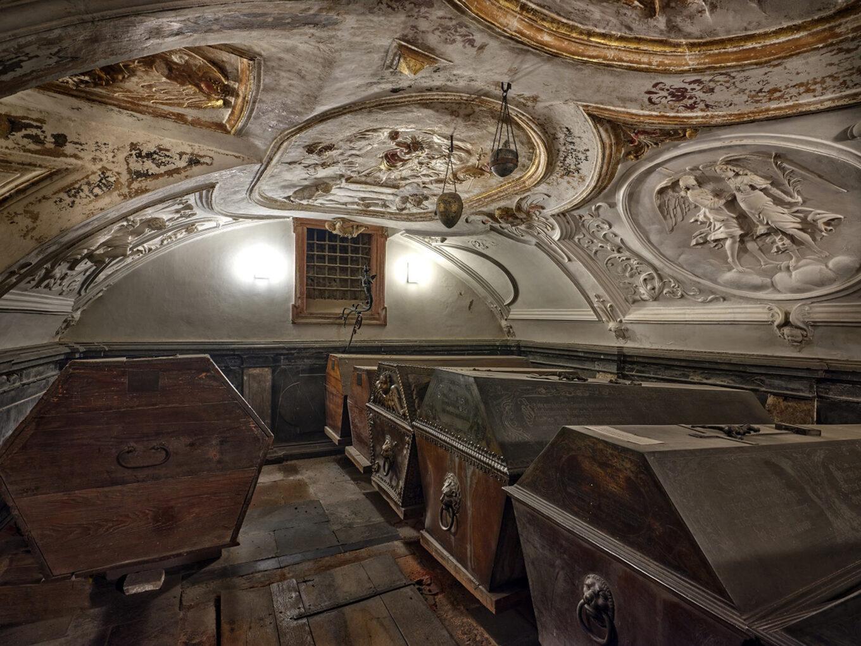 Fürstengruft Darmstadt, Vorderes Gewölbe