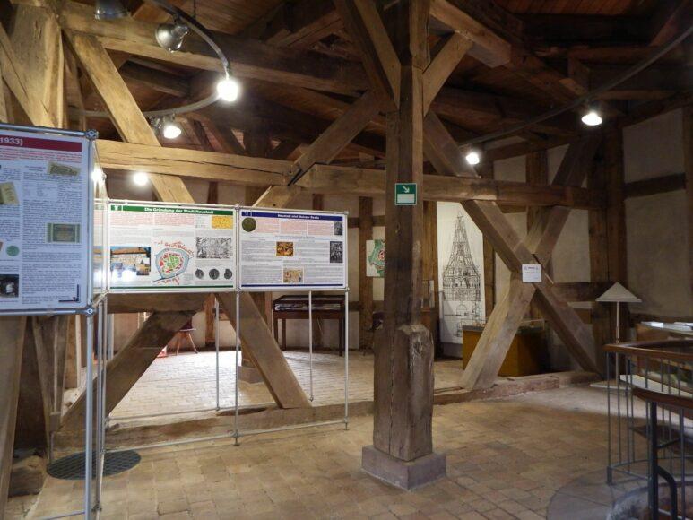 Junker-Hansen-Turm, Ausstellung