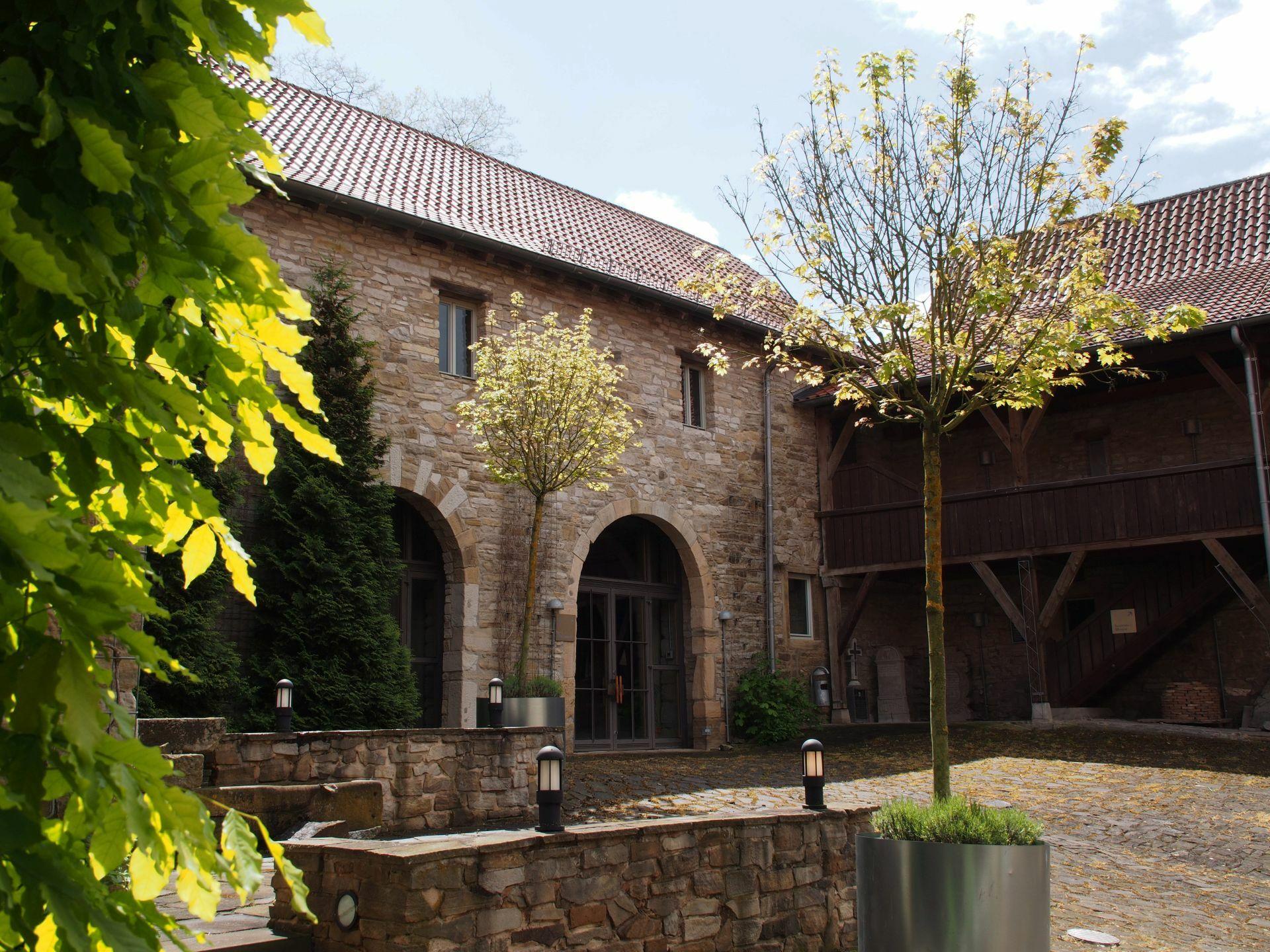 Cornberg innenhof