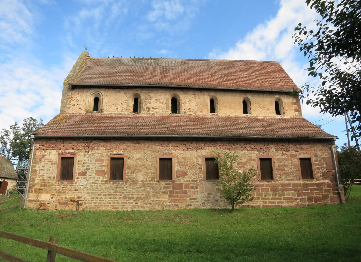 Kloster Konradsdorf, Klosterkirche, Ansicht von Süden