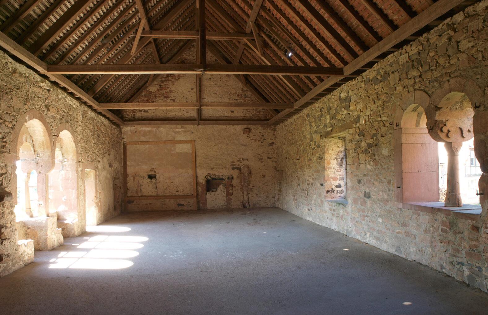 Kloster Konradsdorf, Obergeschoss des Propsteigebäudes