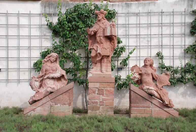 Kloster Seligenstadt, Einhardsgruppe