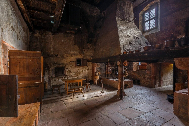 Kloster Seligenstadt, Küche
