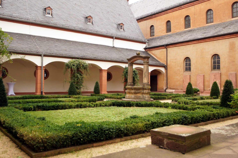 Der Kreuzgang im Kloster Seligenstadt