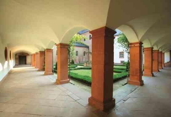 Kreuzgang im Kloster Seligenstadt