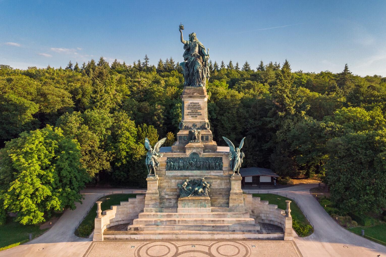 Niederwalddenkmal, Frontalansicht