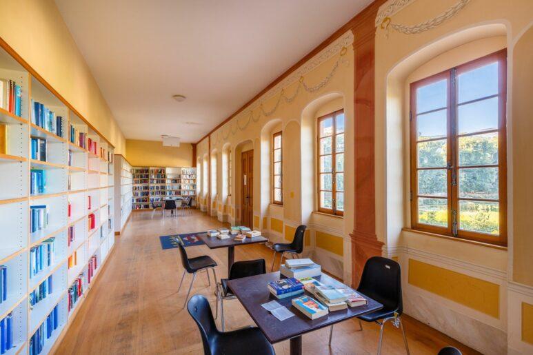 Lesesaal im Prettlackschen Gartenhaus