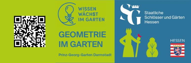 QR Geometrie im Garten