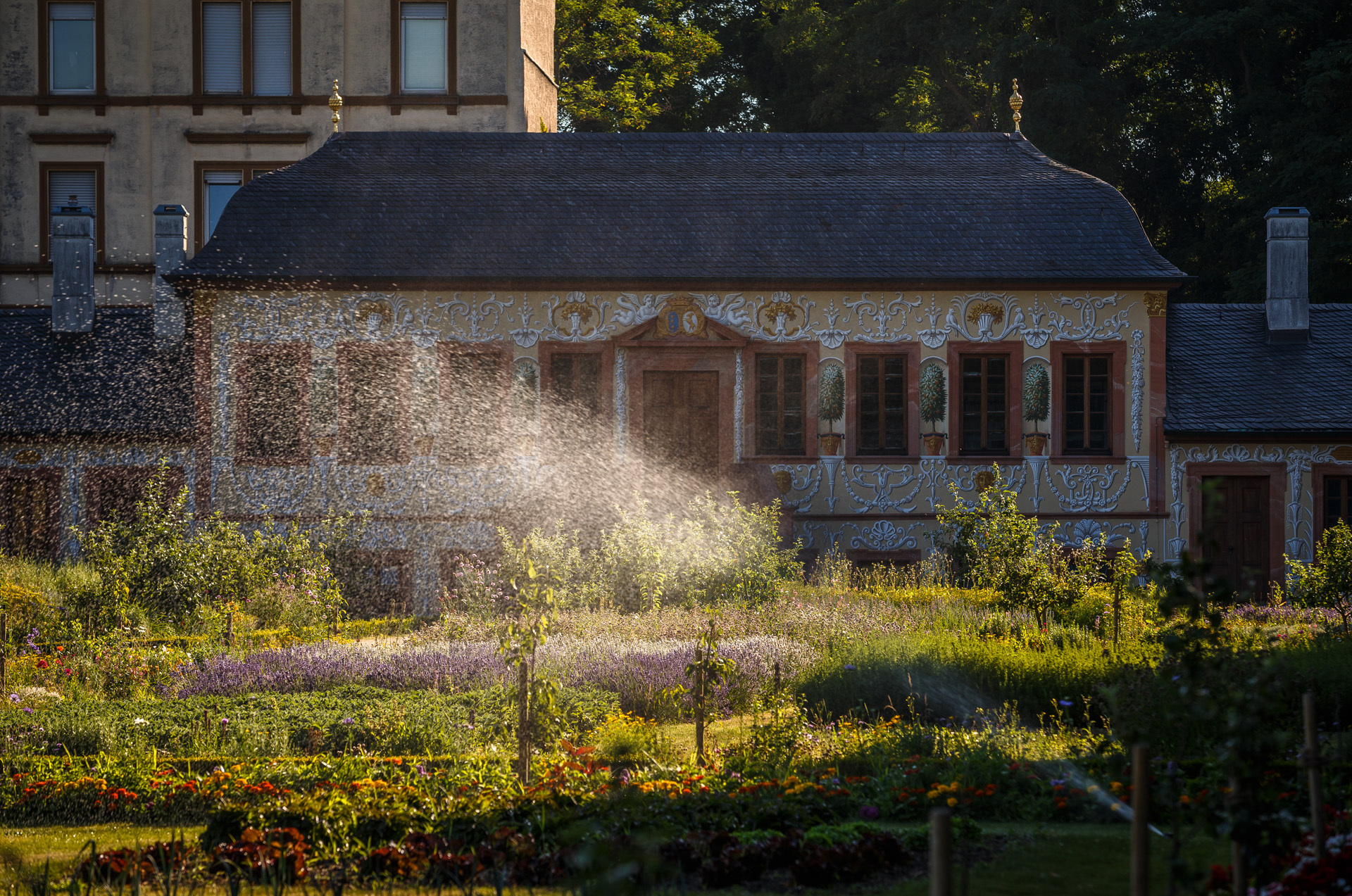 Prinz-Georg-Garten, Kräutergarten