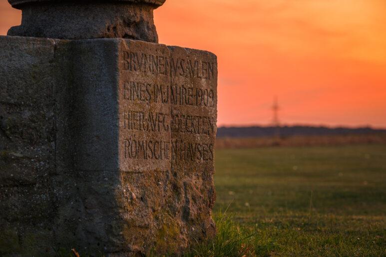 Römerbrunnen, Inschrift