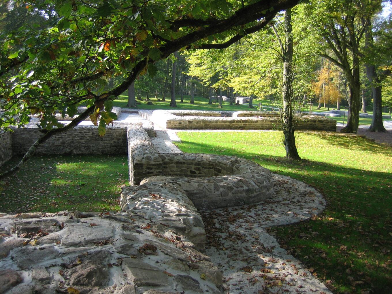 Kapersburg, Grundmauern