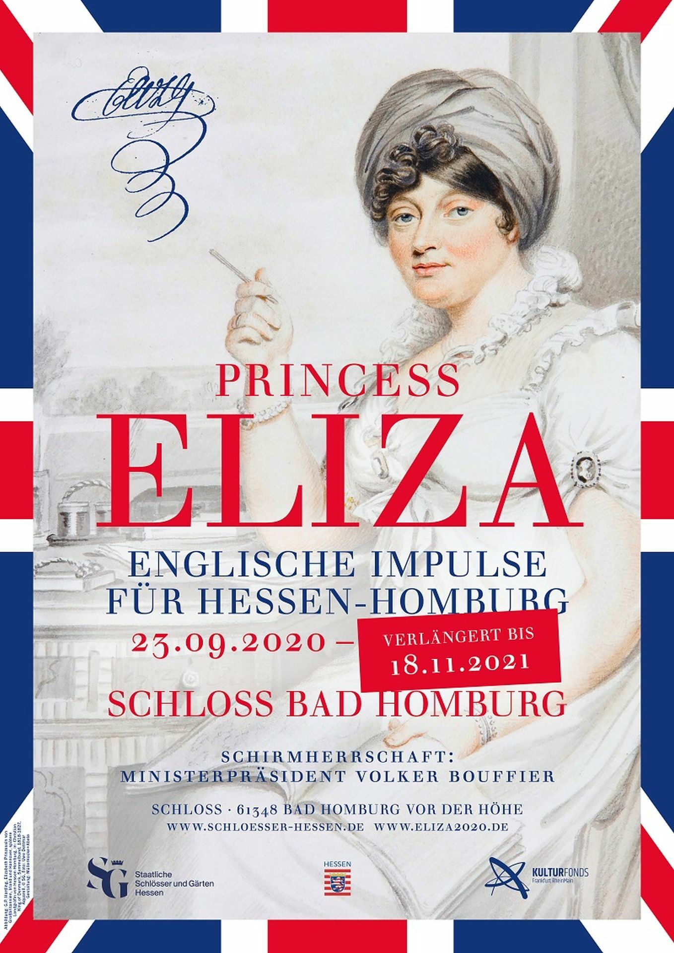 Princess Eliza - Englische Impulse für Hessen-Homburg
