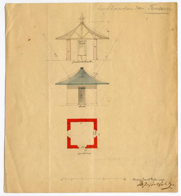 Tempel, Westerfeld-Plan