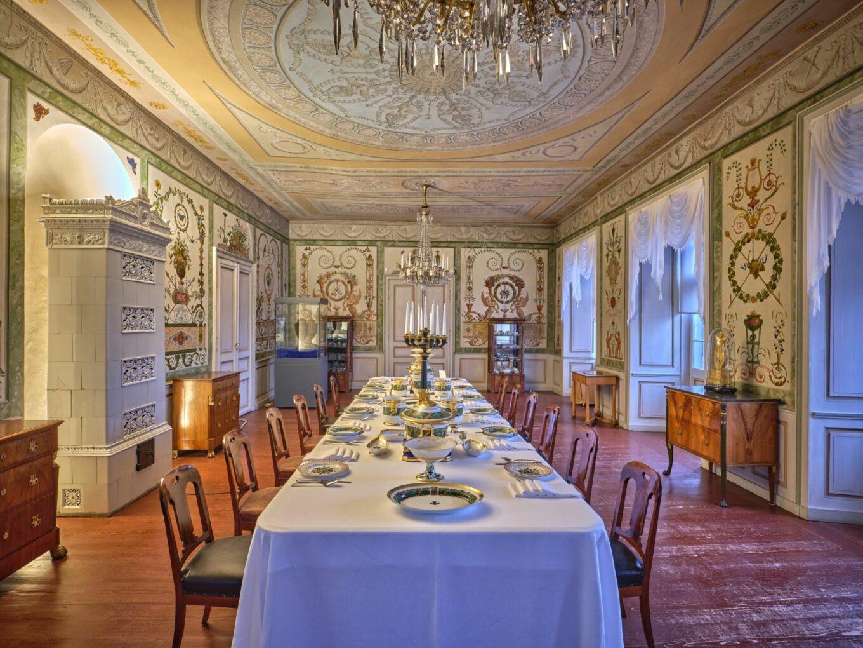 Schloss, Speisesaal