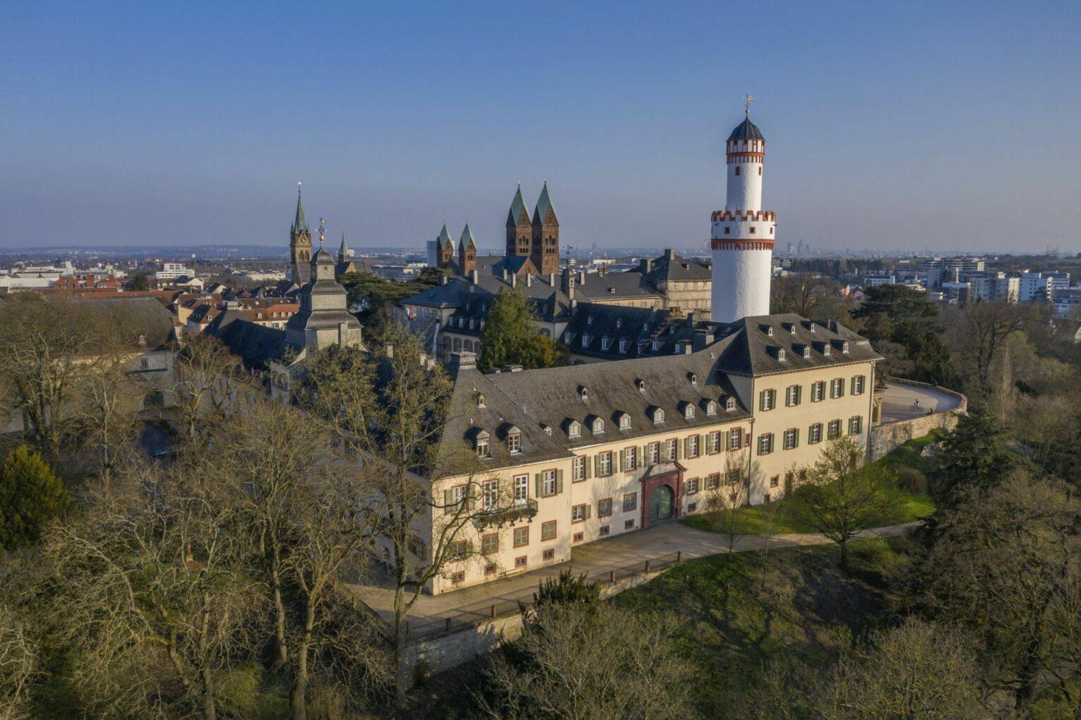 Schloss, Luftbild