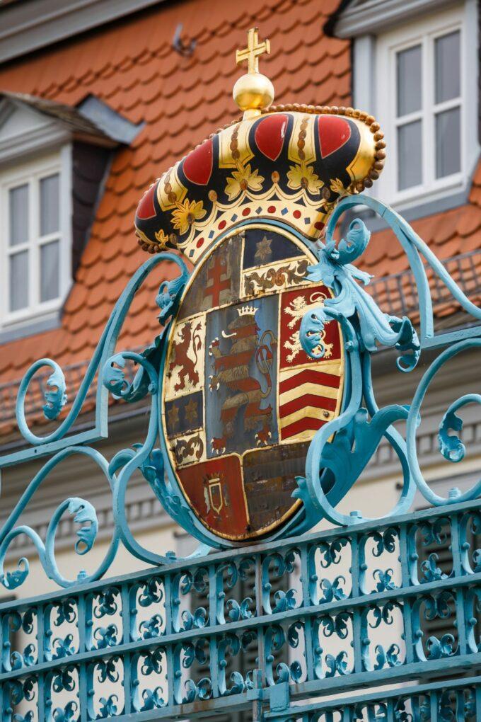 Schloss, Wappen