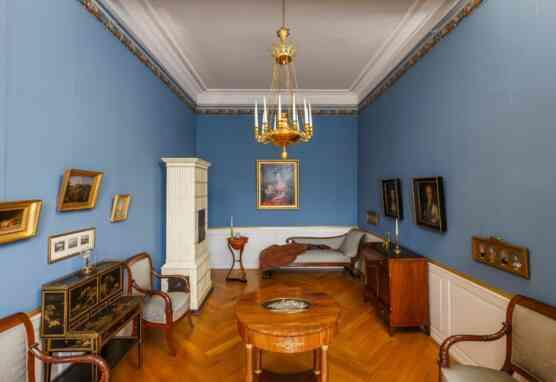 Schloss, Blauer Salon