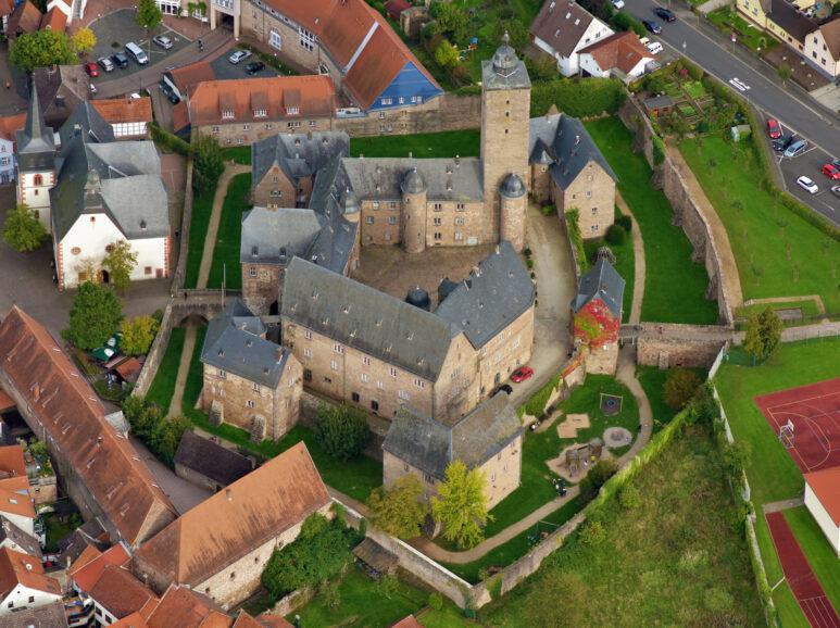 Steinau, Luftbild