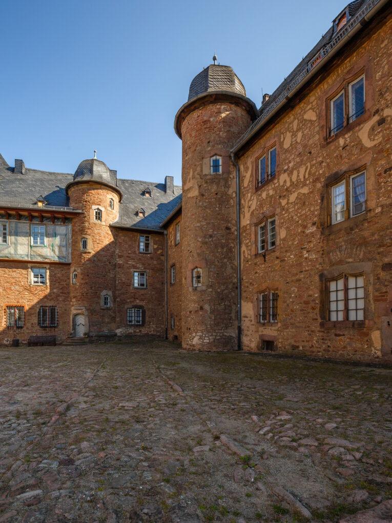 Steinau innenhof