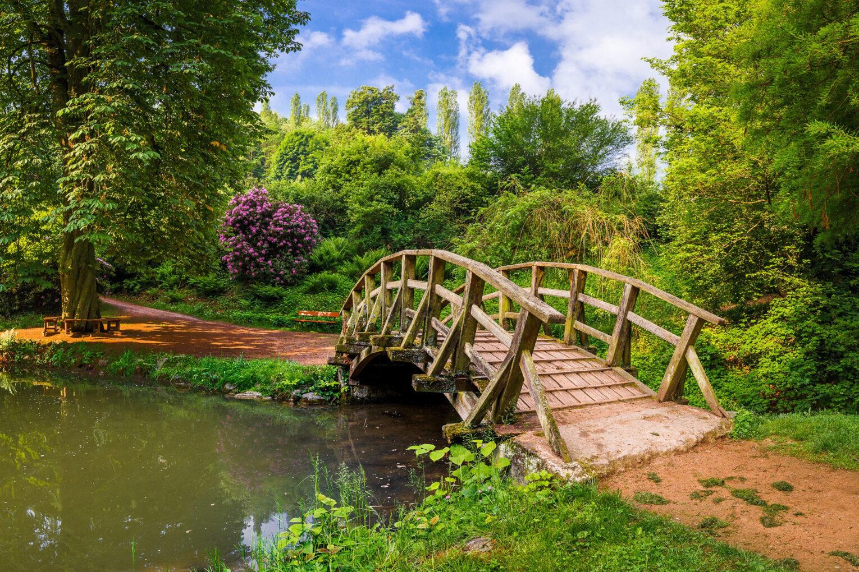 Fürstenlager, Brücke über Schwanenteich