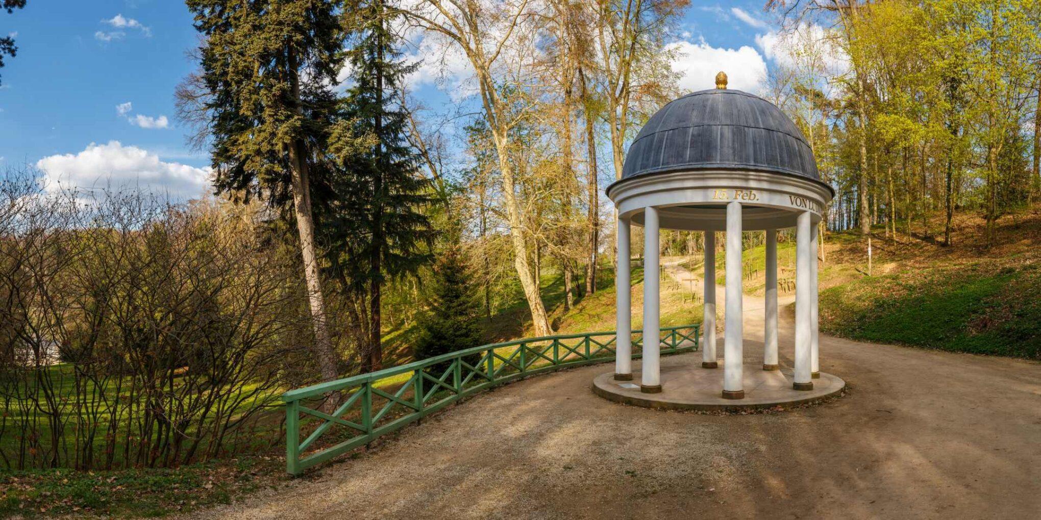 Tempel im Staatspark Fürstenlager