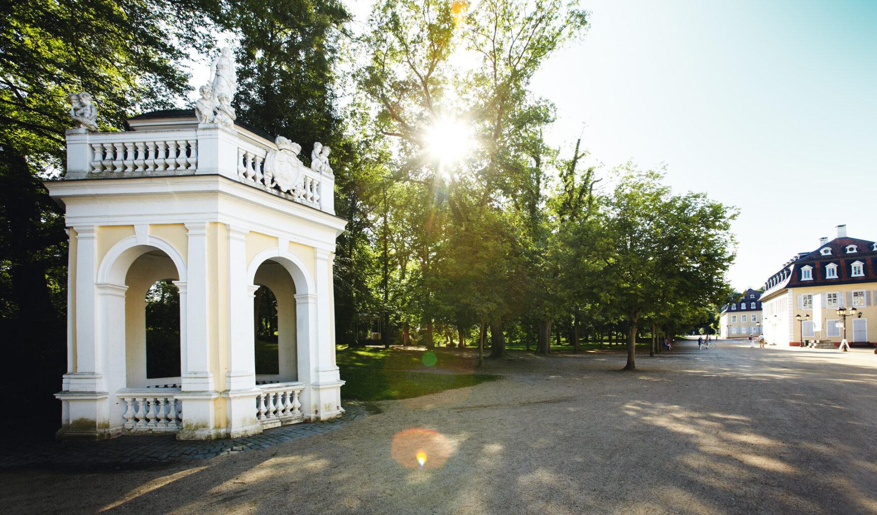Hanau Wilhelmsbad, Brunnentempel
