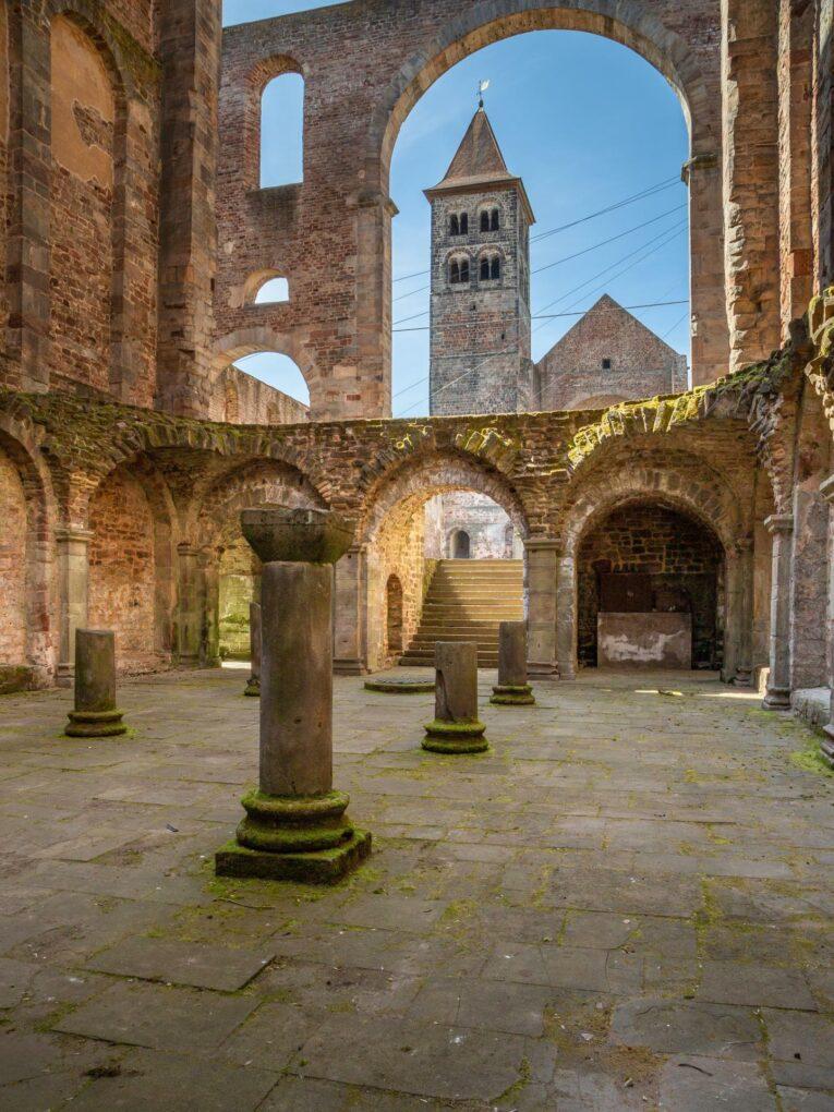 Stiftsruine Bad Hersfeld, Westchor und Südturm