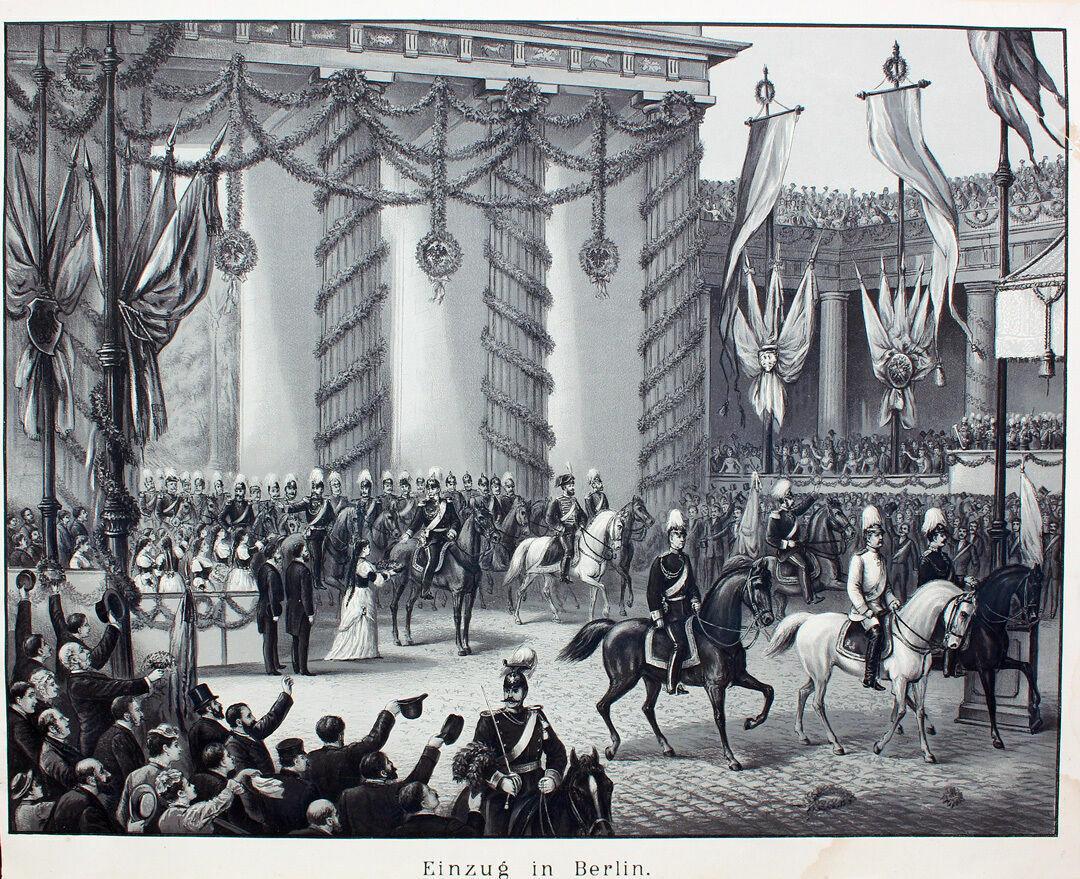 Einzug Kaiser Wilhelm I. in Berlin