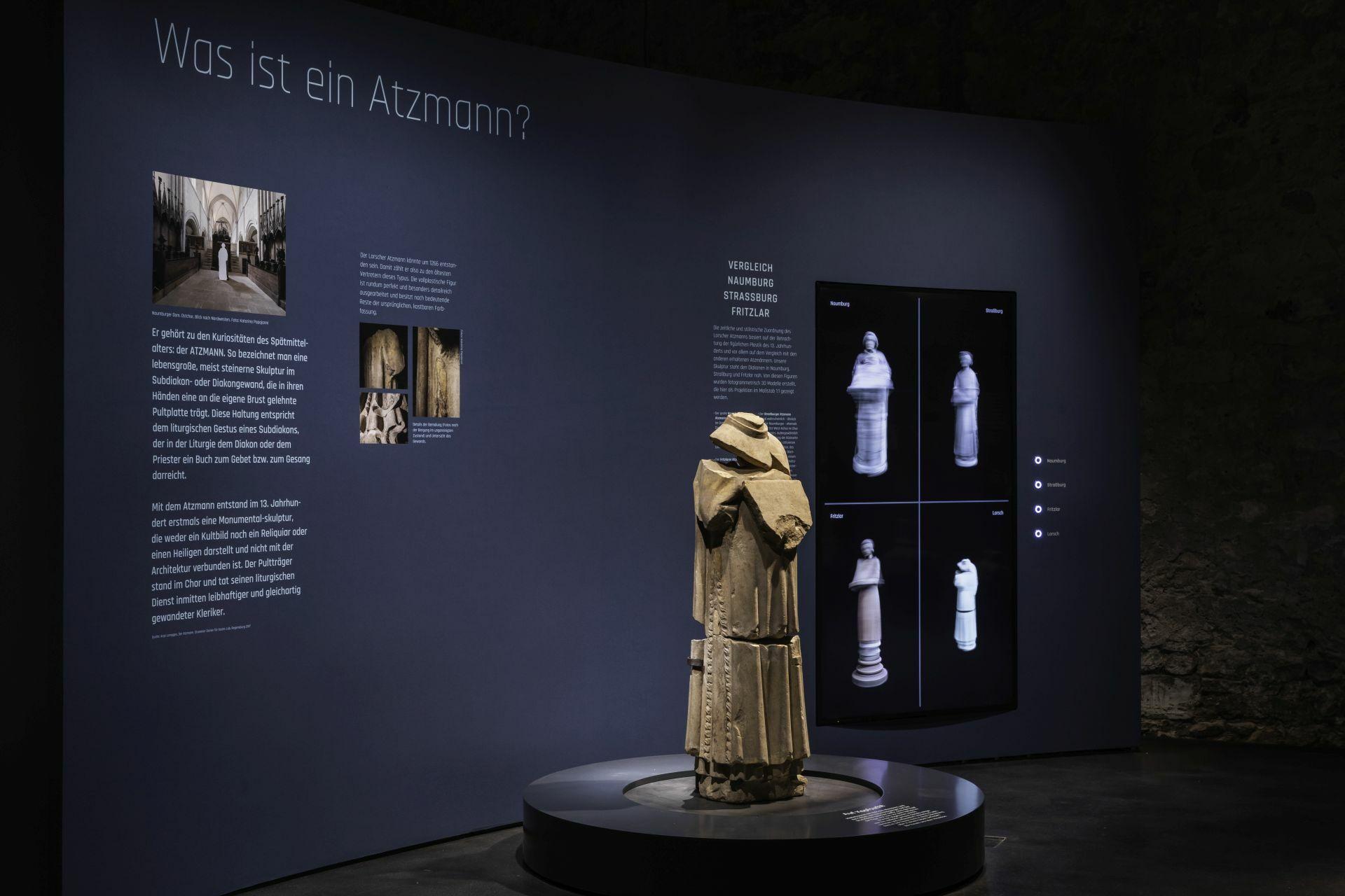 """Der wertvolle """"Atzmann"""" aus dem 13. Jahrhundert ist der Höhepunkt der Ausstellung."""