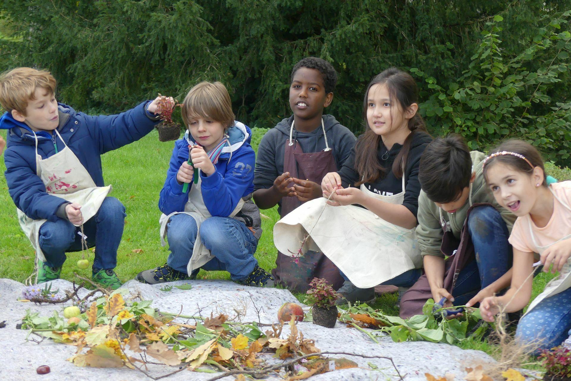 Naturkunde mitten in der Natur im neuen Wissensgarten des Bad Homburger Schlossparks