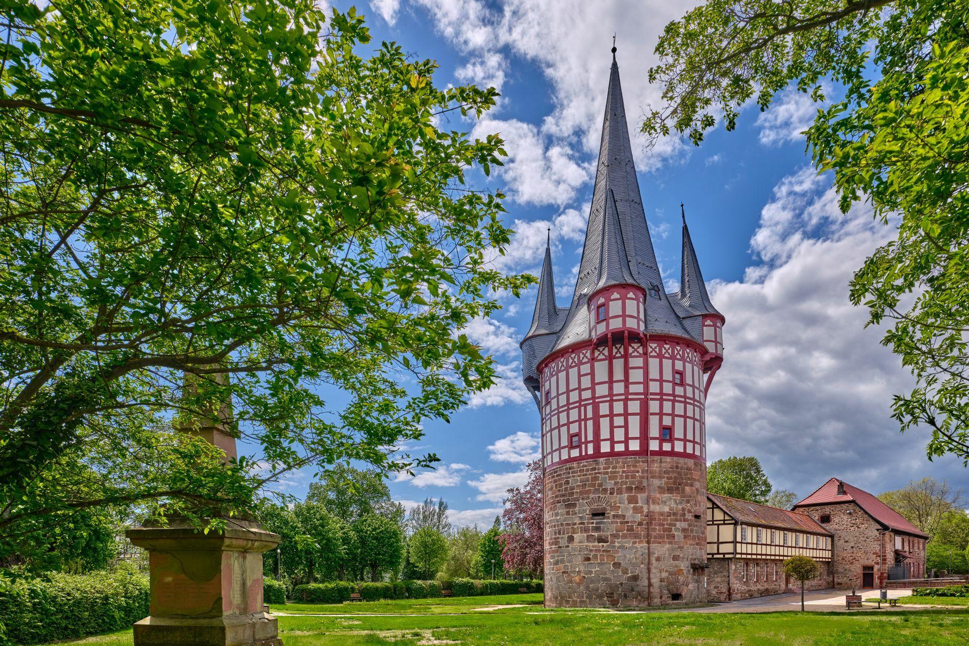 Der Junker-Hansen-Turm ist das Wahrzeichen Neustadts.