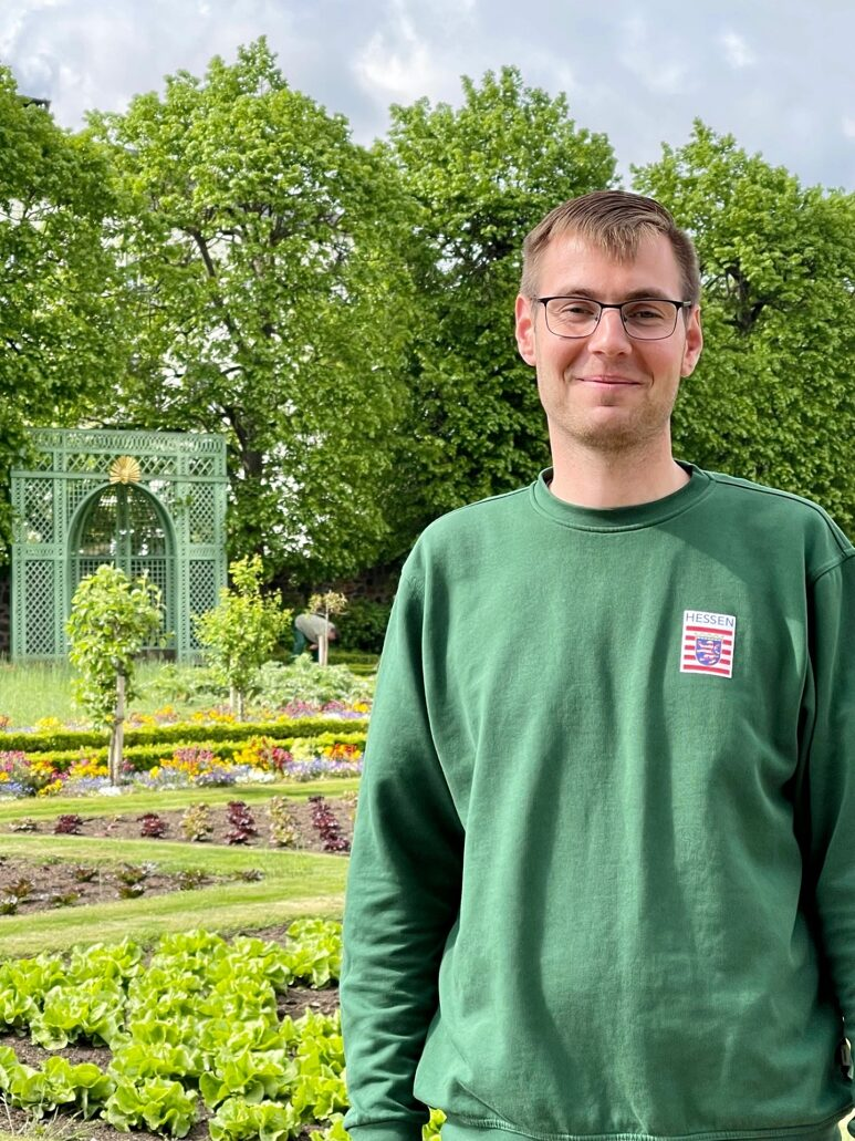 Gartenleiter Stefan Dietrich