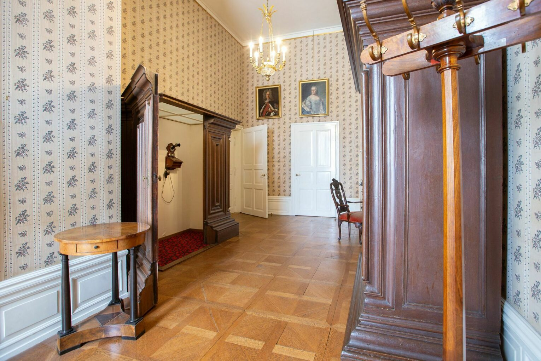 Telefonzimmer in den Kaiserlichen Appartements
