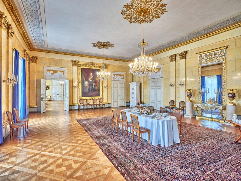 Der Speisesaal der Kaiserlichen Appartements