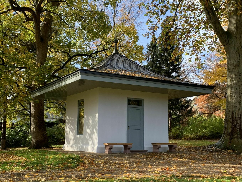 """Der """"Tempel der Pomona"""" steht im Parkbereich """"Fantasie"""""""