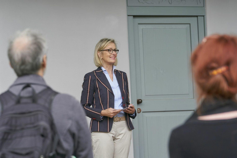 Die Direktorin der Schlösserverwaltung, Kirsten Worms.